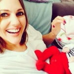 Meryem Uzerli and Her Baby Girl