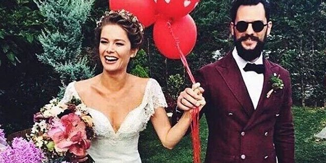 Burcu Biricik got married with emre yetkin