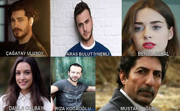 cagatay ulusoy's new tv series: Within (iceride) Cast