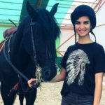 tuba buyukustun with horse