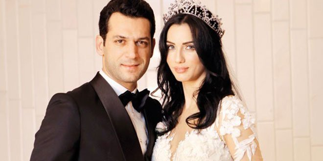 Murat Yildirim and imane elbani Gets Married