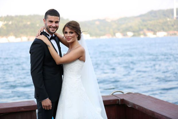 Berk Oktay and Merve Sarapcioglu got married on August 21, 2016