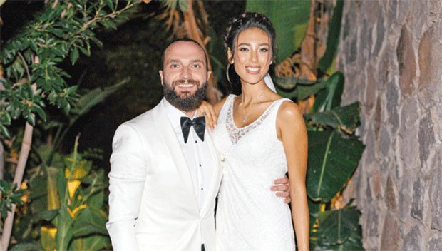 Berkay and Ozlem Katipoglu got married on August 30, 2016