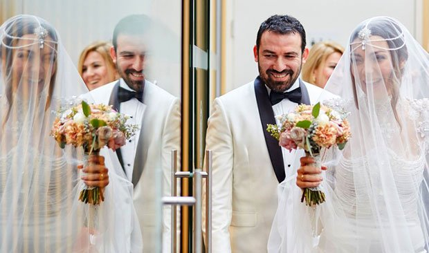 Burcu Kara and Firat Parlak got married on February 19, 2016