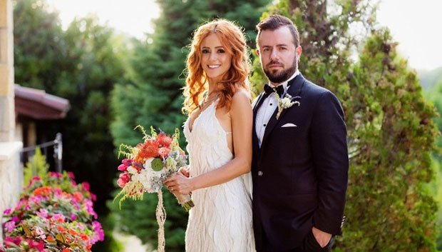 Emre Aydin and Eda Koksal got married on September 9, 2016