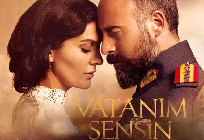 Halit Ergenç - Bergüzar Korel (You Are My Country - Vatanım Sensin)