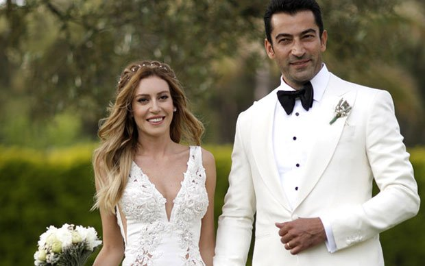 Kenan Imirzalioglu and Sinem Kobal got married on May 14, 2016