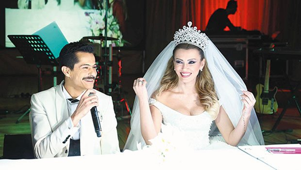 Ismail Hacioglu and Duygu Kaya got married on February 5, 2016