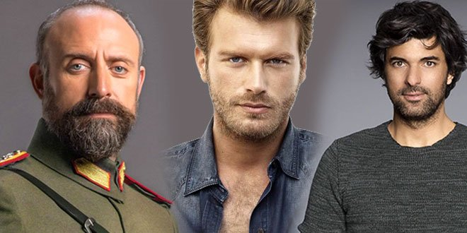 Engin Akyurek (Olene Kadar), Halit Ergenc (Vatanim Sensin), Kivanc Tatlitug (Cesur ve Guzel) actors featured photos