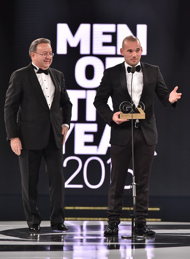GQ Turkey Men of The Year – Best Sportsman: Wesley Sneijder