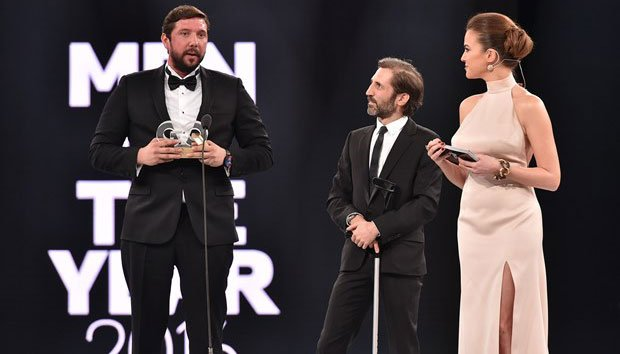 GQ Turkey Men of The Year – Inspirational Man of the Year: Caner Eler