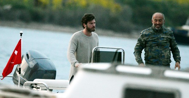 Kivanc Tatlitug went to Catal Ada
