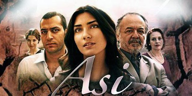 Turkish drama: rebellious (Asi) poster