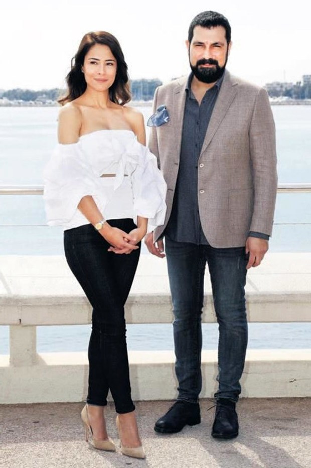 Ozlem Conker and Bulent Inal from Turkish drama