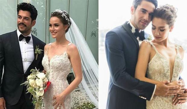 Fahriye Evcen Neslihan Atagul wedding dress
