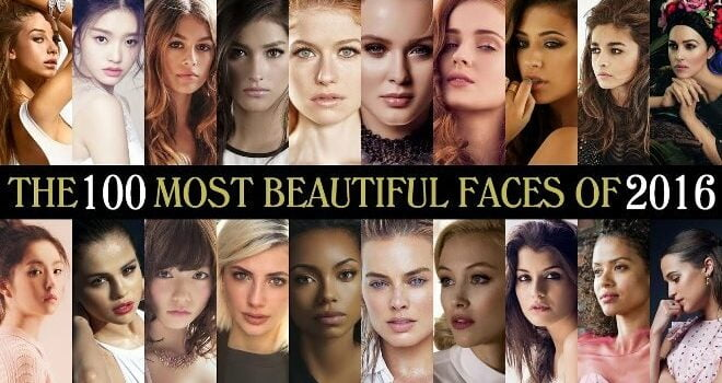 The World's 100 Most Beautiful Women featured