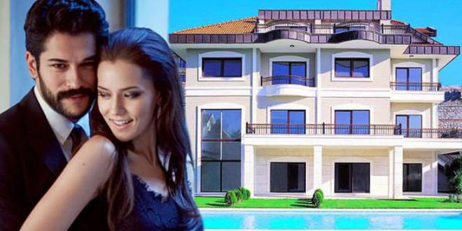 New House of Burak Ozcivit and Fahriye Evcen