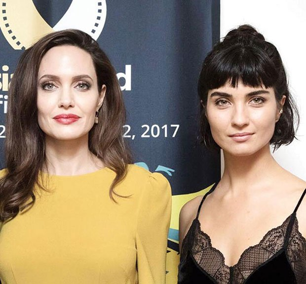 Angelina Jolie and Tuba Buyukustun
