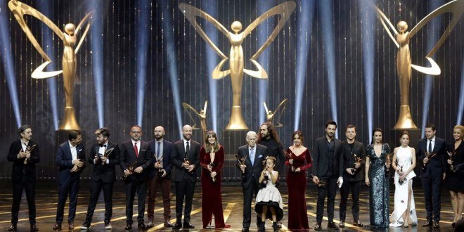Winners of the 44th Golden Butterfly Awards 2017