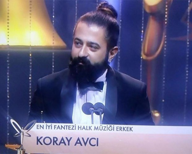Best Male Fantasy/Folk Song Singer Award: Koray Avci