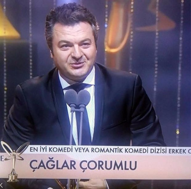 Best Actor of Comedy & Romantic Comedy Drama Award: Çaglar Corumlu