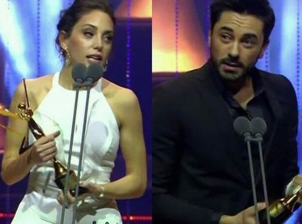 Best Couple Award: Oyku Karayel and Gokhan Alkan