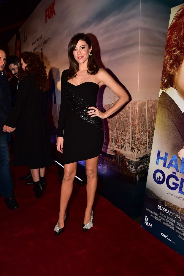 Basak Dizdar Tatlitug in Premiere of Come on My Son (Hadi Be Oglum)