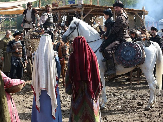Resurrection: Ertugrul (Dirilis Ertugrul) shooting location in riva