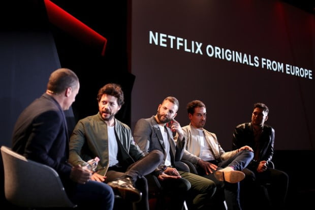 "Cagatay Ulusoy's photos from Netflix ""See What's Next"" event"