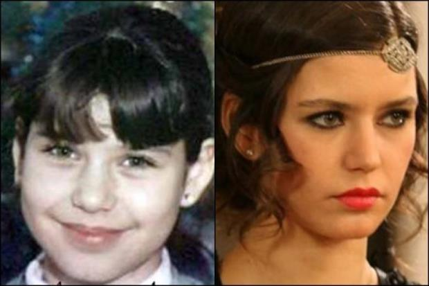 Beren Saat Childhood Photo and Beren Saat 2018 Photo