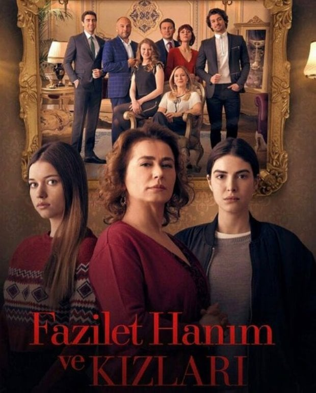 Mrs. Fazilet and Her Daughters (Fazilet Hanım ve Kızları) Tv Series Poster