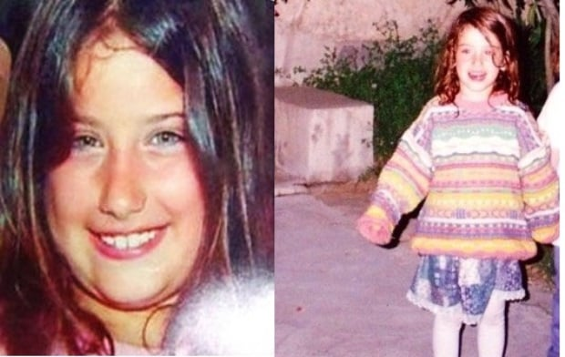 Hazal Kaya Childhood Photo