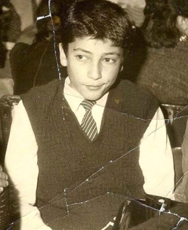 Kenan Imirzalioglu Childhood Photo