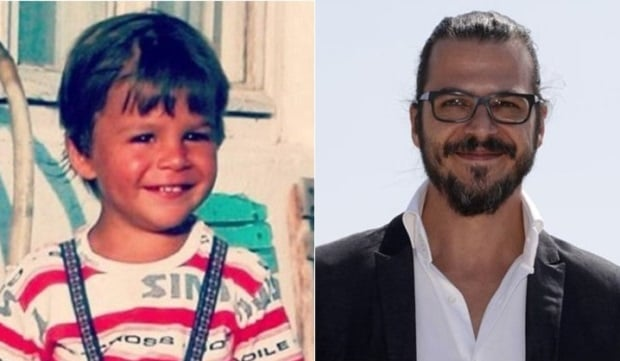 Mehmet Gunsur Childhood Photo and Mehmet Gunsur 2018 Photo