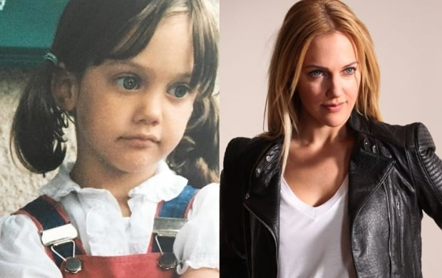 Meryem Uzerli Childhood Photo and Meryem Uzerli 2018 Photo