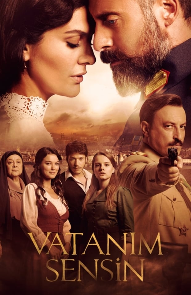 Wounded Love (Vatanım Sensin) Tv Series Poster