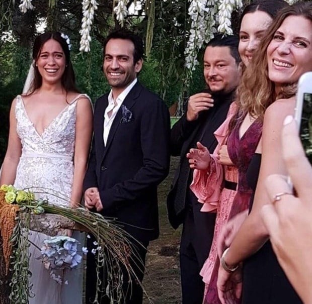 Bugra Gulsoy and Nilufer Gurbuz's guests