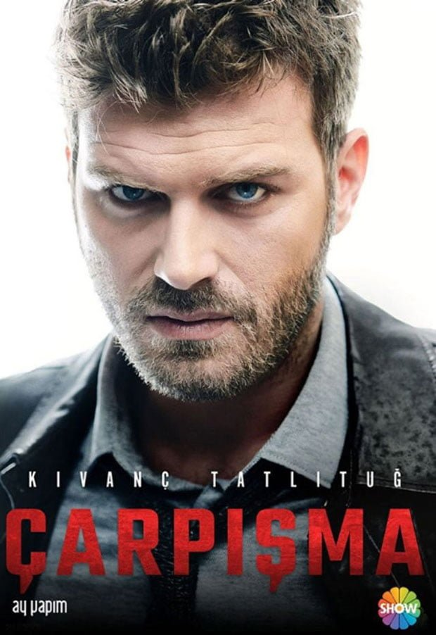 Kivanc Tatlitug as Mahir in Turkish Drama Collision (Çarpışma)