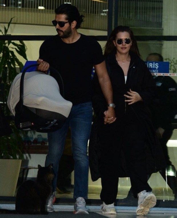 Burk Ozcivit and His Wife Fahriye Evcen