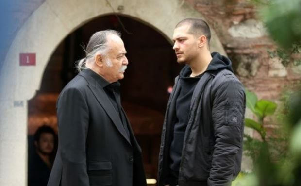 celal and Sarp in insider tv series