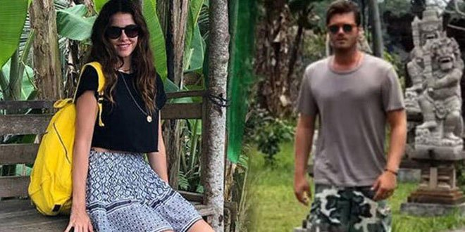 Kıvanç Tatlıtuğ and Başak Dizer Freshen Up Their Love in Bali