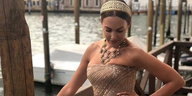 Meryem Uzerli is at Venice Film Festival