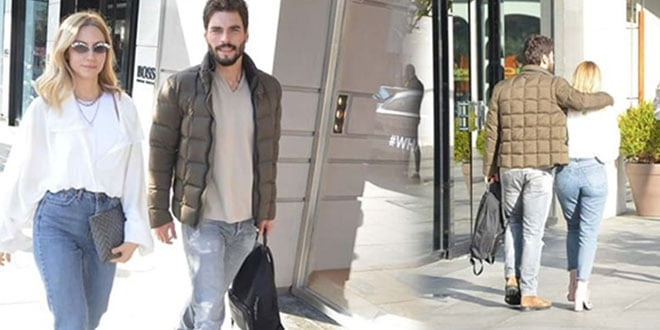 A Jealousy Attack between Akin Akinozu and His Girlfriend Sandra Pestemalciyan