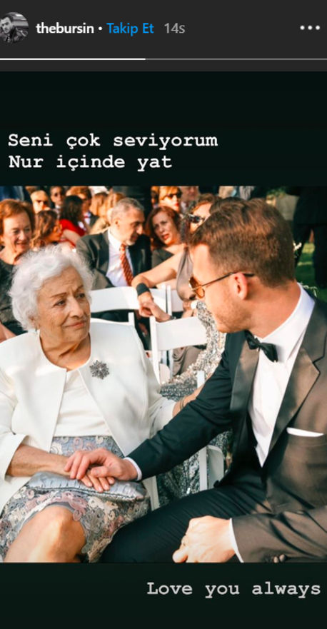 Kerem Bursin's Grandmother