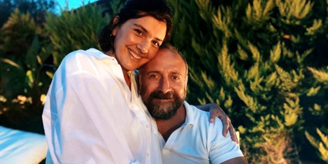 Halit Ergenç and Bergüzar Korel Celebrated Their 11th Year Anniversary