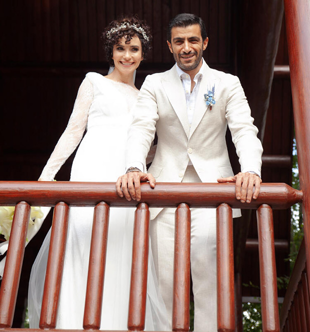 Songul Oden and her husband
