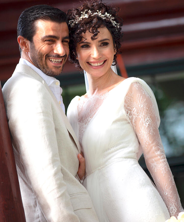 Songül Öden and her spouse Arman Bıçakçı